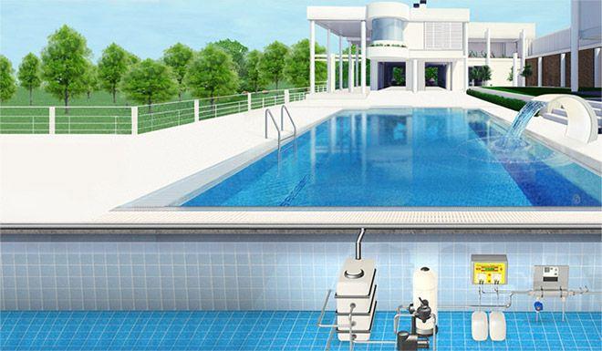 Проектирование и монтаж бассейнов